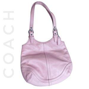 COACH soho hobo slim light Barbie pink buckle